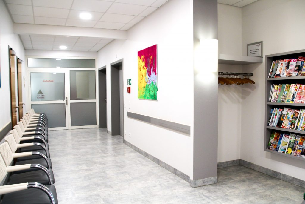 Radiologische Praxis Dillingen - Warteraum